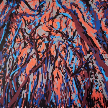 SANS TITRE Acrylique sur papier, 24x34 cm, 2020